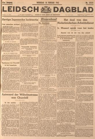 Leidsch Dagblad 1942-02-18