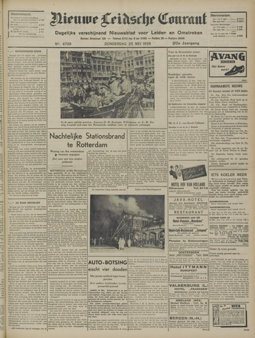 Nieuwe Leidsche Courant 1939-05-25
