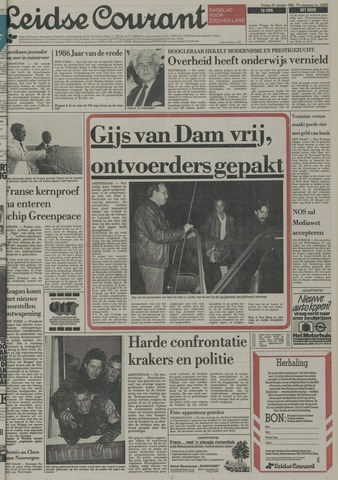 Leidse Courant 1985-10-25
