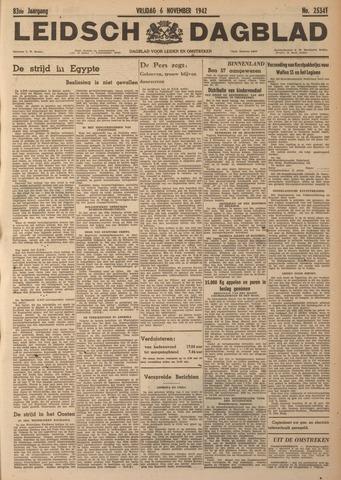 Leidsch Dagblad 1942-11-06