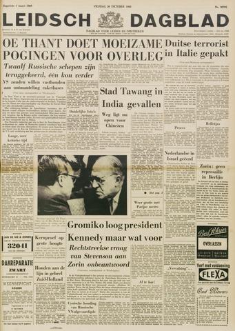 Leidsch Dagblad 1962-10-26