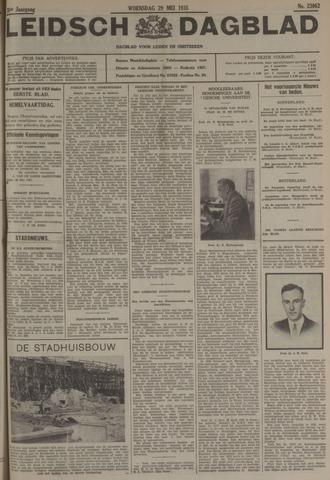 Leidsch Dagblad 1935-05-29