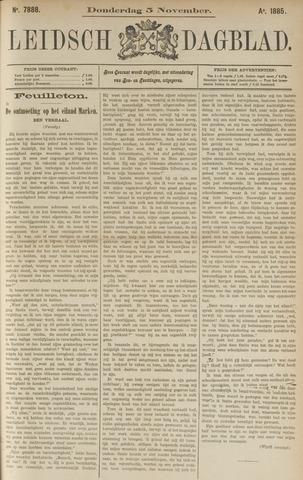 Leidsch Dagblad 1885-11-05