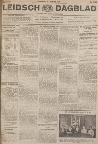 Leidsch Dagblad 1930-01-25