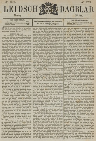 Leidsch Dagblad 1878-06-25