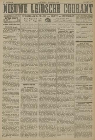 Nieuwe Leidsche Courant 1927-12-24