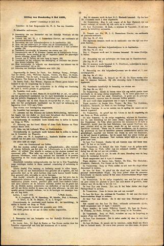 Handelingen van de Raad 1879-05-08