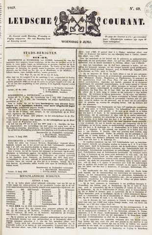 Leydse Courant 1869-06-09
