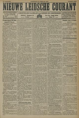 Nieuwe Leidsche Courant 1927-02-24