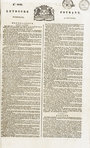 Leydse Courant 1841-10-20