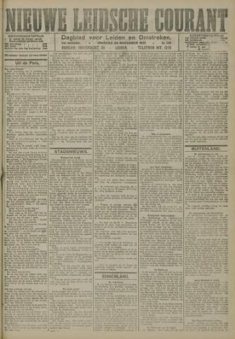 Nieuwe Leidsche Courant 1921-11-29