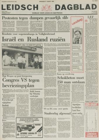 Leidsch Dagblad 1982-08-06