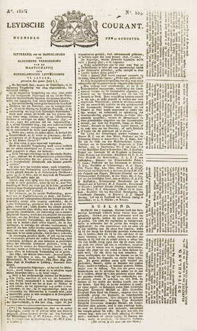 Leydse Courant 1826-08-30