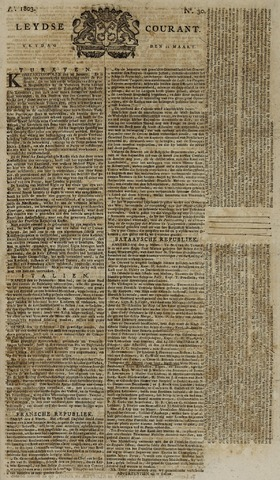 Leydse Courant 1803-03-11