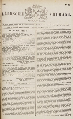 Leydse Courant 1884-03-06