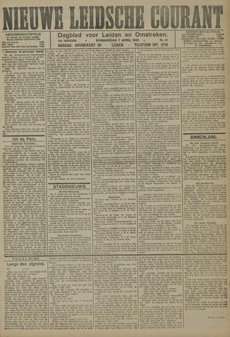 Nieuwe Leidsche Courant 1921-04-07