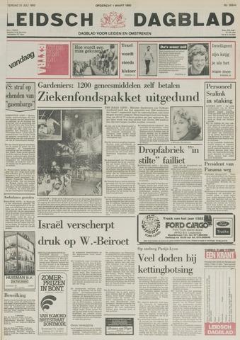 Leidsch Dagblad 1982-07-31