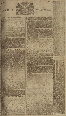 Leydse Courant 1760-08-01