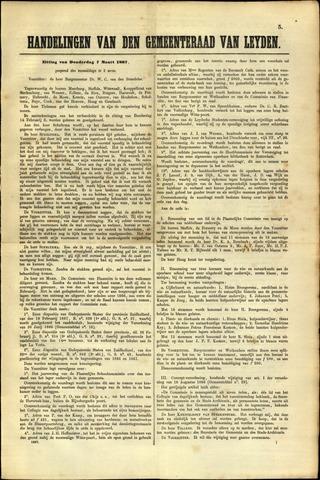 Handelingen van de Raad 1867-03-07