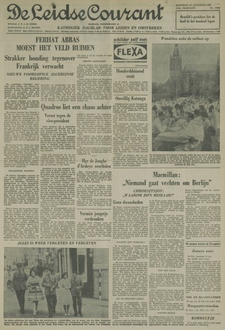 Leidse Courant 1961-08-28