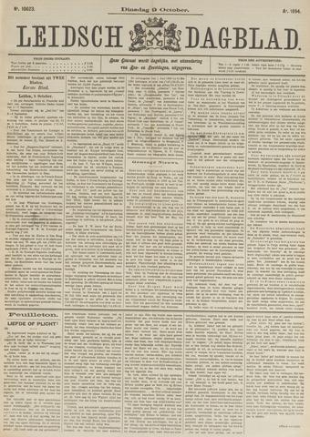 Leidsch Dagblad 1894-10-09