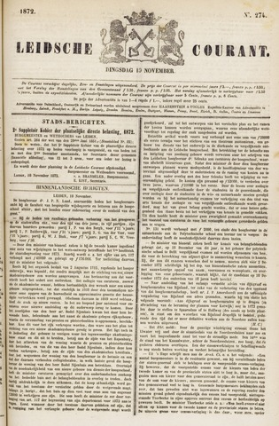 Leydse Courant 1872-11-19