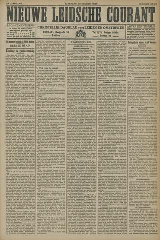 Nieuwe Leidsche Courant 1927-01-29
