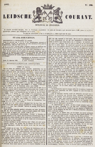 Leydse Courant 1882-08-22