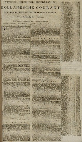 Leydse Courant 1795-05-11