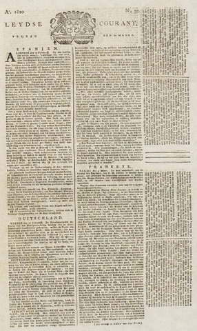 Leydse Courant 1820-03-10