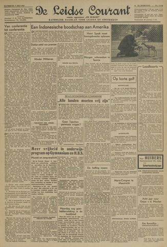 Leidse Courant 1947-07-05