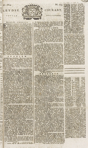 Leydse Courant 1814-10-14