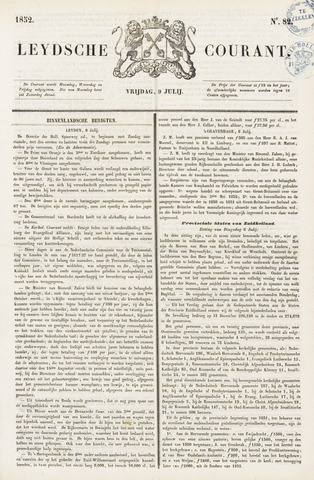 Leydse Courant 1852-07-09