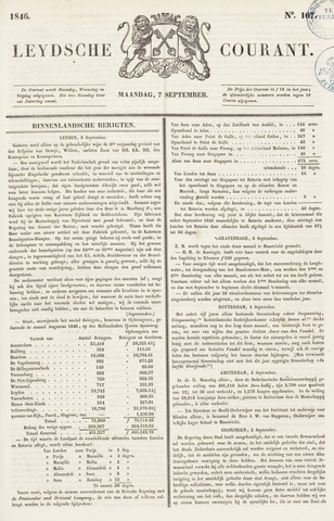 Leydse Courant 1846-09-07