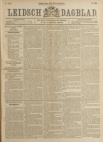 Leidsch Dagblad 1899-11-20