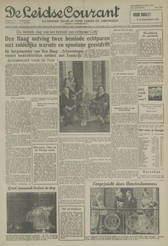 Leidse Courant 1954-07-22