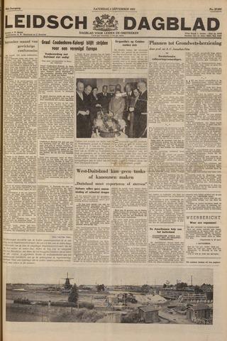 Leidsch Dagblad 1951-09-01
