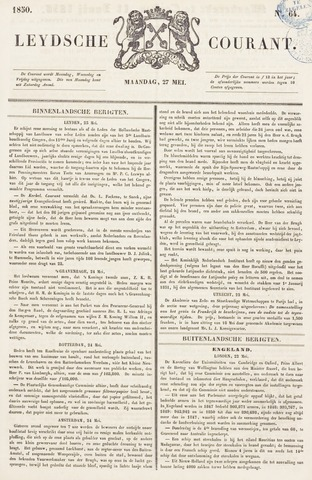 Leydse Courant 1850-05-27