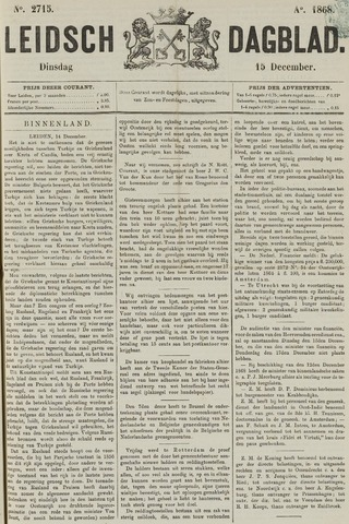 Leidsch Dagblad 1868-12-15