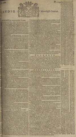 Leydse Courant 1760-10-27