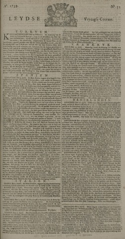 Leydse Courant 1739-05-01