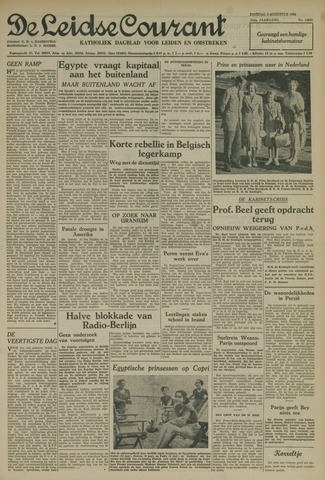 Leidse Courant 1952-08-05