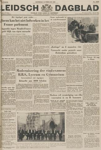 Leidsch Dagblad 1955-02-19