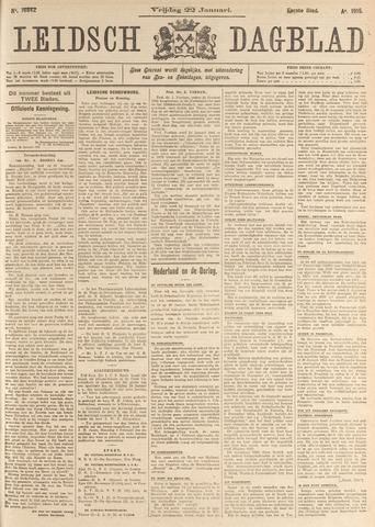 Leidsch Dagblad 1915-01-22