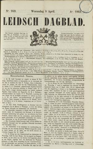 Leidsch Dagblad 1863-04-08