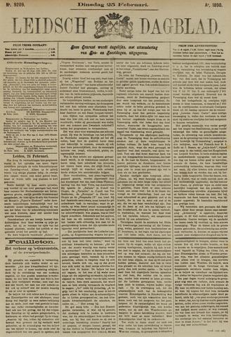 Leidsch Dagblad 1890-02-25