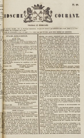 Leydse Courant 1885-02-27