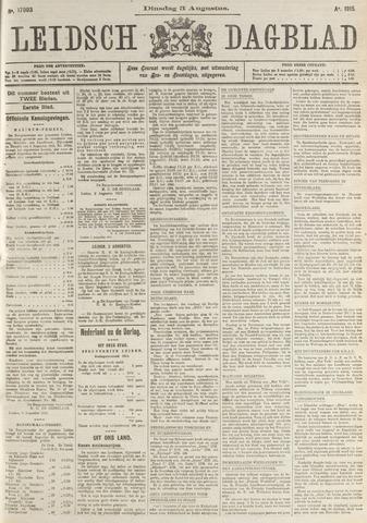 Leidsch Dagblad 1915-08-03