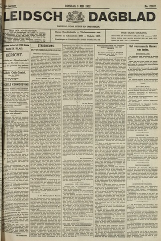 Leidsch Dagblad 1932-05-03