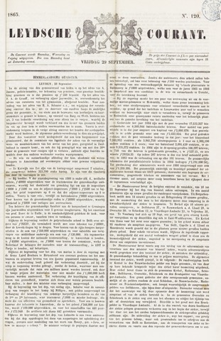 Leydse Courant 1865-09-29